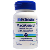 UK Buy Life Extension, MacuGuard, Ocular Support, 60 Softgels