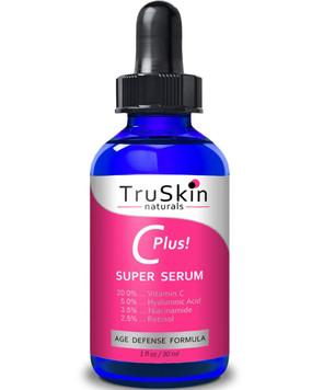 UK Buy TruSkin, Vitamin C-Plus Super Serum, Anti Aging Anti-Wrinkle, 1 oz