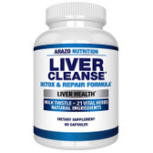 UK Buy Liver Cleanse Detox & Repair, 60 Caps, Arazo