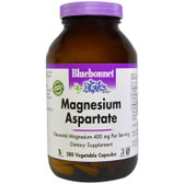 UK Buy Magnesium Aspartate, 200 Caps, Bluebonnet