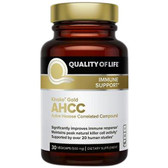 UK buy Kinoko Gold AHCC Immune 500 mg, 30 Caps, Quality of Life