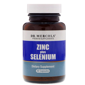UK Buy Zinc Plus Selenium, 30 Caps, Dr. Mercola
