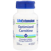 UK Buy Optimized Carnitine, 60 Caps, Life Extension