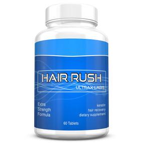 UK Buy Ultrax Hair Rush, Maxx Hair Growth & Anti Hair Loss Keratin Vitamin, 60 Tabs
