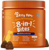 Zesty Paws, Multivitamin for Dogs, 90 Soft Chews, for All Ages Glucosamine & Chondroitin + MSM