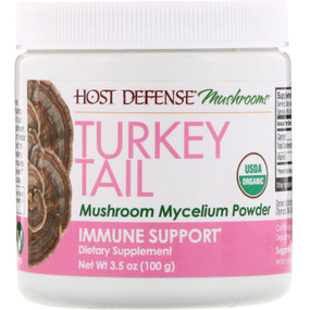 UK Buy Turkey Tail Mushroom Mycelium, Immune Support, 3.5 oz, Fungi Perfecti