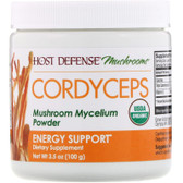 UK Cordyceps, Mushroom Mycelium Powder, Energy, 3.5 oz, Fungi Perfecti