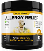 UK Buy  Allergy Relief Immunity for Dogs 90 Chew Treats, Dog Allergies, Gut