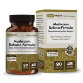 UK Buy Mushroom Defense, 90 Caps, DailyNutra, Reishi, Maitake, Shiitake & Turkey Tail