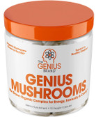 Buy Immune Booster, 90 Caps, Genius Mushrooms, Lions Mane, Cordyceps, Reishi