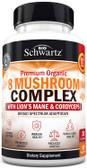 UK Buy 8 Mushroom Complex, 90 Caps, BioSchwartz, Immune Response