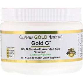 UK Buy Gold C Powder, 8.81 oz, California Gold, Immune Support