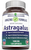 UK Buy Astragalus 1000 mg, 120 Caps, Amazing Formulas