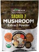 UK buy Sacred 7 Mushroom Extract 2.0 oz, Lion's Mane, Reishi, Maitake, Turkey Tail, Chaga
