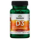 Uk Buy Vitamin D3 Highest Potency, 5000 IU, 250 Softgels, Swanson