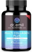 UK Buy Multi Collagen Nutrition Plus 90 Caps, Dr. Emil, Skin, Joints, Hair