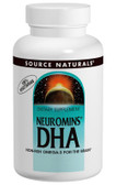 DHA, Neuromins 200 mg 120 Softgels Source Naturals, Non-Fish Omega-3