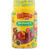 UK Buy Immune C Plus Zinc & Vitamin D, 60 Gummies, L'il Critters Kids
