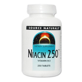 UK Buy Niacin 250, 250 Tabs, Source Naturals, Vitamin B-3