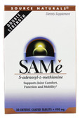 SAMe 400 mg 30 Tabs, Source Naturals, S-Adenosyl-L-Methionine, UK Shop