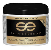 Skin Eternal Cream 4 oz Source Naturals, Lipoic Acid, DMAE, C-Ester