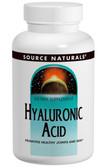 Hyaluronic Acid 50mg 120 Tabs, Source Naturals, UK Shop