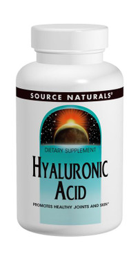 Hyaluronic Acid 100 mg 60 Tabs Source Naturals, UK Store