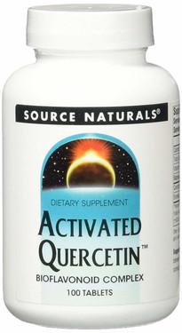 UK Buy Activated Quercetin 100 Tabs, Source Naturals, Bioflavonoid Complex
