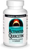 UK Buy Activated Quercetin 50 Caps, Source Naturals, Bioflavonoid Complex