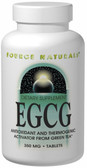 EGCG 350 mg 60 Tabs Source Naturals, Antioxidant and Thermogenic