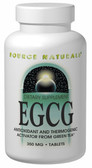 EGCG 350 mg 120 Tabs Source Naturals, Antioxidant and Thermogenic