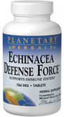 Echinacea Defense Force 784 mg 90 Tabs, Planetary Herbals, Immune, UK
