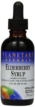 Elderberry Syrup 2 oz Planetary Herbals, UK Store