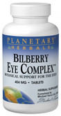 Bilberry Eye Complex 404 mg 120 Tabs, Planetary