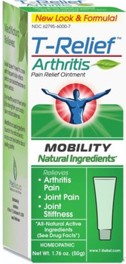 MediNatura, T-Relief Arthritis Pain Relief Ointment, Joint Pain