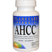 AHCC 500mg 60 Caps Planetary Herbals, UK Shop