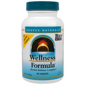 Wellness Formula 90 Tabs, Source Naturals, UK shop