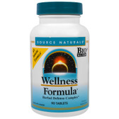 Wellness Formula 90 Tabs, Source Naturals, UK shop