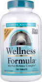Wellness Formula 180 Tabs Source Naturals, UK Store