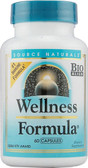 Wellness Formula UK 60 Caps Source Naturals, UK Online Store