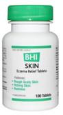 MediNatura, BHI, Skin Eczema Relief 100 Tabs, UK Supplements