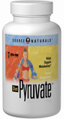 Diet Pyruvate 500 mg 120 Caps Source Naturals, Metabolism
