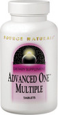 Advanced One Multiple 90 Tabs, Source Naturals