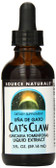 Cat's Claw Una de Gato 1 oz  Source Naturals