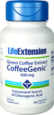 Life Extension CoffeeGenic Green Coffee Extract 400 mg 90 Caps