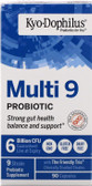 UK Buy Kyo-Dophilus 9 (Heat Stable Probiotic) 90 Caps, Kyolic, UK