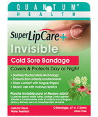 Quantum Invisible Cold Sore Bandagem, 12 ct