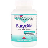 Buy UK ButyrAid 100 Tabs Nutricology, Digestion