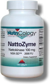 Nattokinase 100mg 180 Softgels, Nutricology