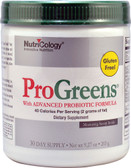 ProGreens with Advanced Pro Biotics Drink Mix 265 g Nutricology, UK